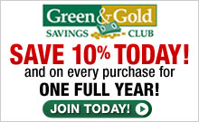 Save 10% Today and on every purchase for a year! Join Today