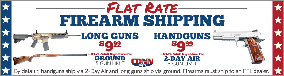 Flat Rate Firearm Shipping