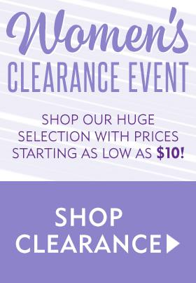 Womens Clearance Event