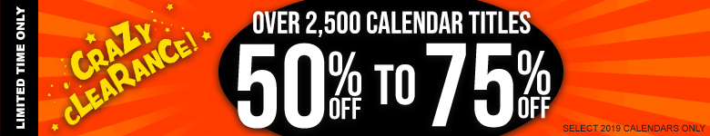 Save Up to 75% Off Thousands of Calendars today!