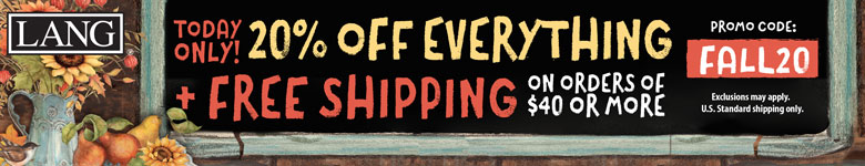 Get 20% Off Everything plus FREE SHIPPING on orders $40 or more! Use Code FALL20