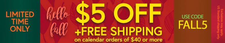 Get $5 Off and Free Shipping on Orders $40+. Use Code FALL5