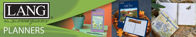 Shop Lang planners, available now at Calendars.com