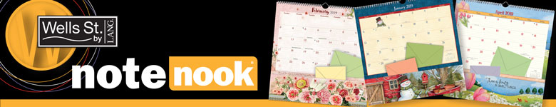 Shop Note Nook Calendars as seen in the Lang Catalog.