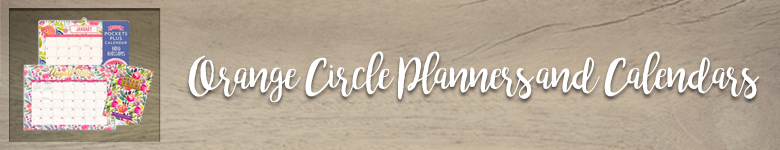 Shop our variety of calendars and planners from Orange Circle Studios