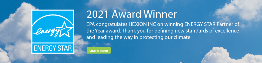 Hexion is proud to be US EPA Partner of the Year in 2021