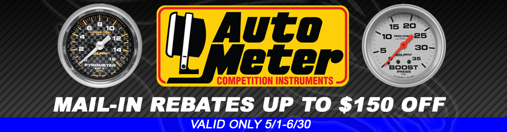 Auto Meter Mail-In Rebate Form