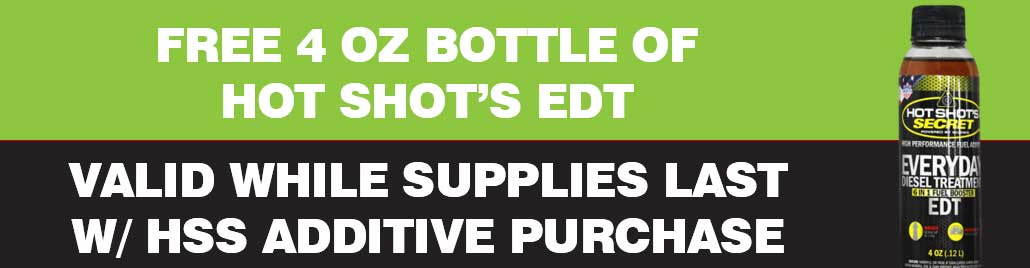 Hot Shot's Secret Free EDT Bottle