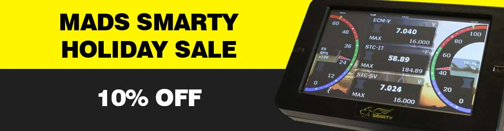 Mads Smarty Holiday Sale Promo