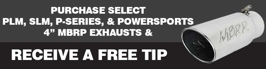 MBRP Free Tip Promo