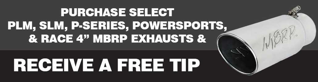 MBRP Free Tip Promo