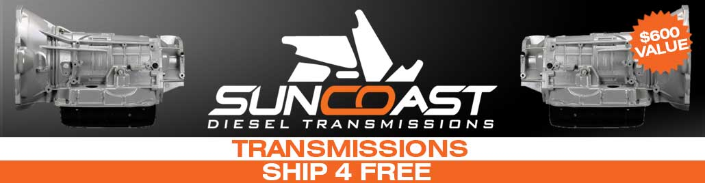 Suncoast Transmissions Ship For Free