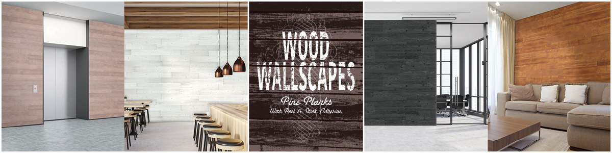 Wooden Wall Planks (Wood Wallscapes)