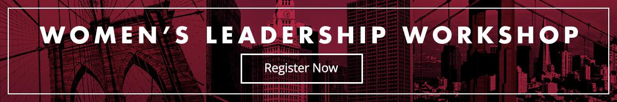 Register for AMA's Women's Leadership Workshop