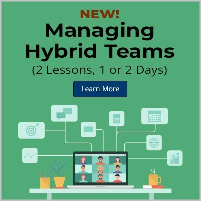 New Course! Managing Hybrid Teams