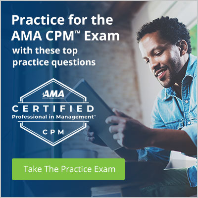 Practice for the AMA CPM Exam with these top practice questions