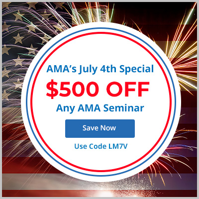 Save $500 on AMA Seminars