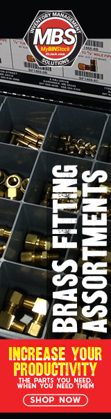 Brass Fitting Assortments - Increase your Productivity. The parts you need, when you need them.