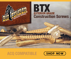 Big Timber BTX Exterior Grade Construction Screws