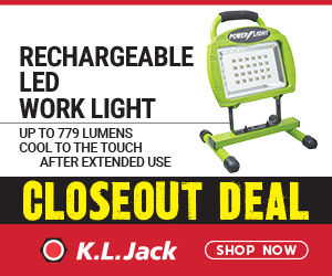 CLOSEOUT SALE – Rechargeable LED Work Light