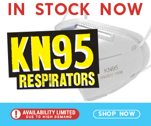 KN95 Respirators – LIMITED AVAILABILITY