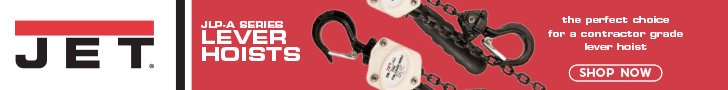 JET JLP-A Series Lever Hoists - The perfect choice for a contractor grade lever hoist.