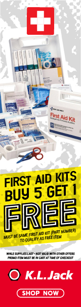 Buy 5 First Aid Kits, Get 1 FREE. Must be same First Aid Kit (part number) to Qualify for FREE Item.