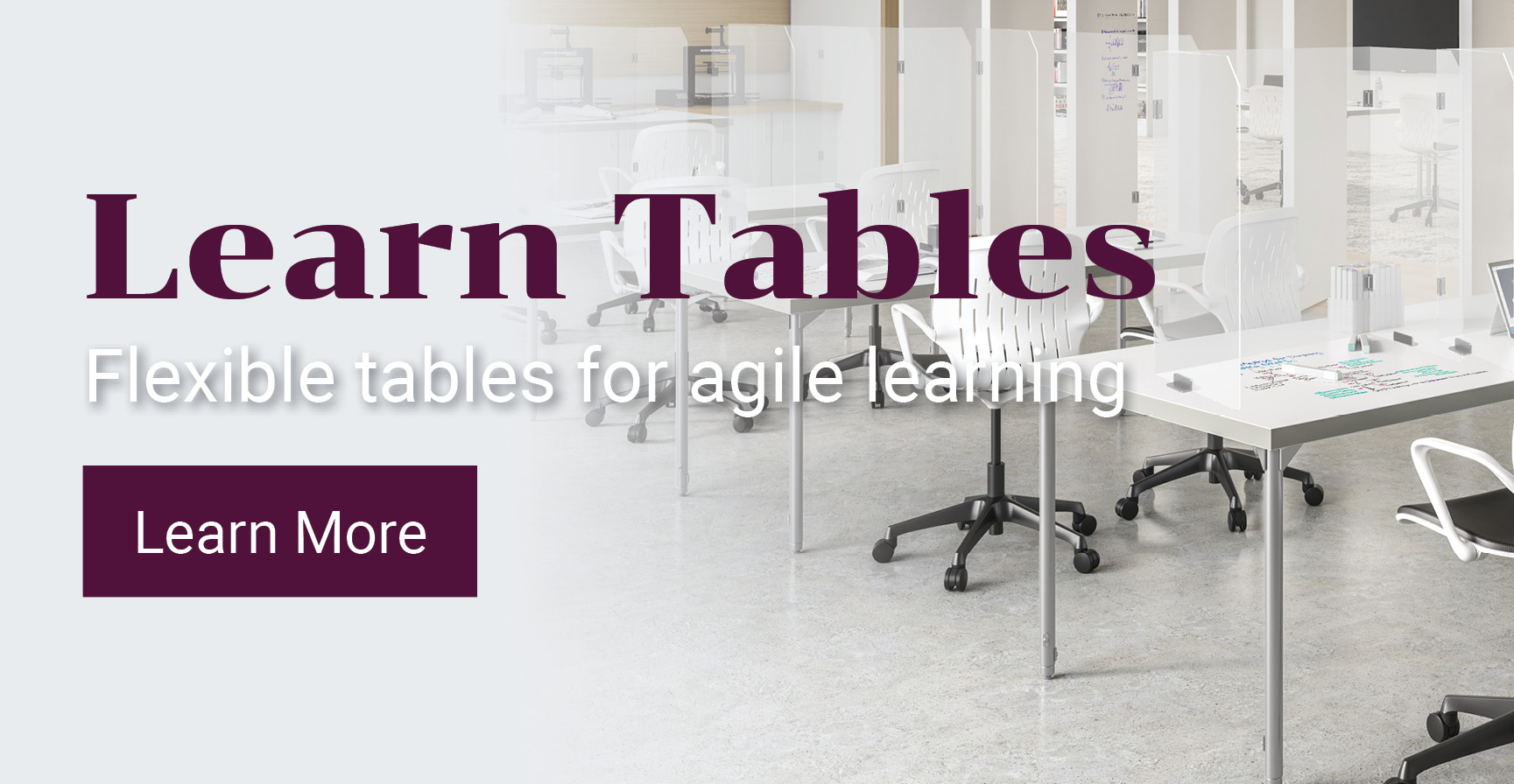 Flexible Learn Tables For Agile Learning