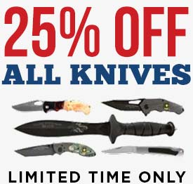 Knives 25% off