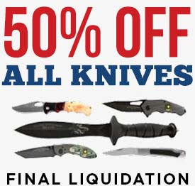 Knives 50% off