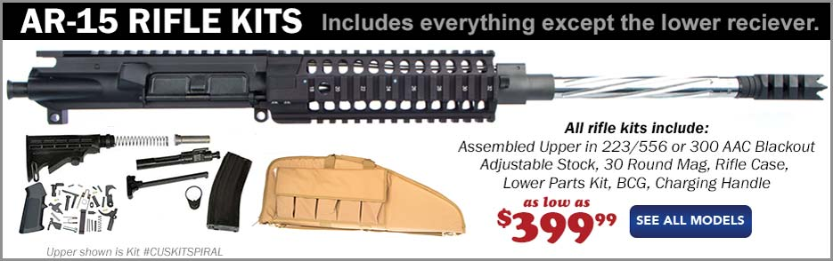 AR15 Rifle Kits