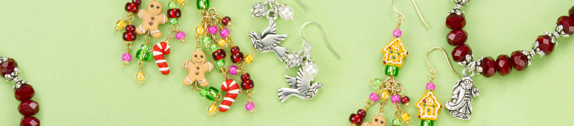 Shop Christmas Jewelry Supplies