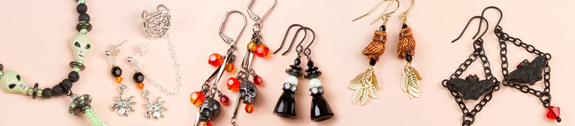 Shop all Halloween beads and browse jewelry ideas!
